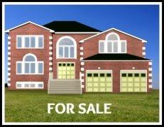 home sale advertisement