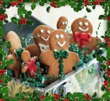 holiday gingerbread men