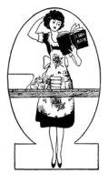 laundress cartoon character