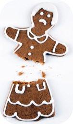 broken gingerbread lady