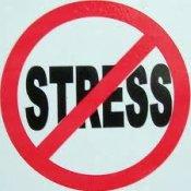 No stress logo