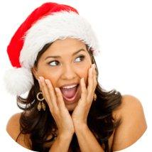 stressed Santa female